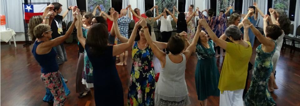 Baile Circular em Floripa - convidadas: Deborah Dubner e Sandra Cabral (nov 2014)