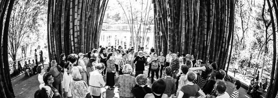 Dança Circular na Virada Sustentável - Fala Sampa (agosto/2015)