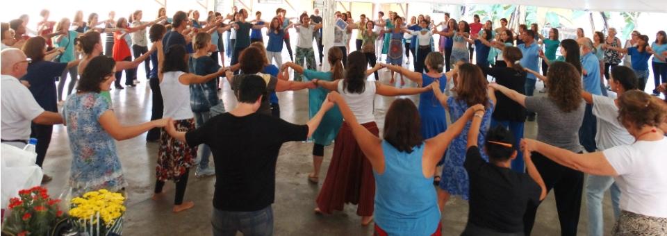 Dançando Águas da Paz - Agradecendo e honrando as águas da natureza e em nós (março/2015)