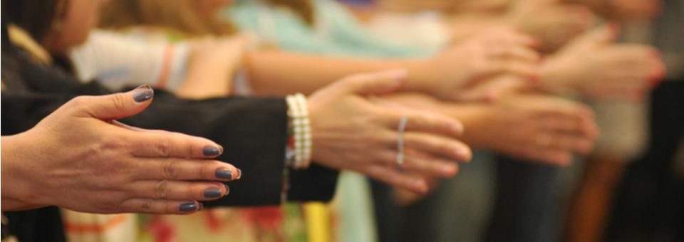 Dança Circular para executivos da empresa HSM Management - nov/2014
