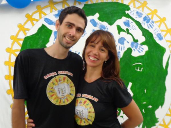 Ricardo Tabarim e Andrea Guedes