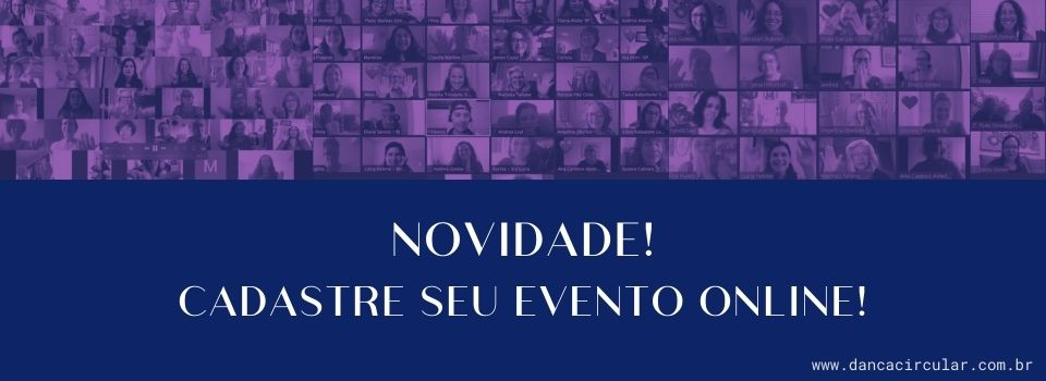 Cadastre seu evento de Dança Circular online!